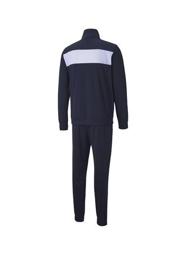 Puma Puma 58360206 Techstripe Tricot Suit Lacivert Erkek Eşofman Takımı Lacivert
